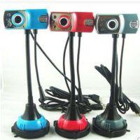 热卖特价闪酷 免驱高清 带夜视带麦克风 台式机笔记本电脑摄像头