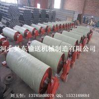 供应滚筒,TD75型滚筒 胶面滚筒 输送机传动滚筒