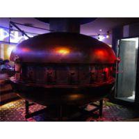 供应炉鱼餐厅炭火烤鱼炉 大型UFO烤鱼炉 圆形烤鱼炉子