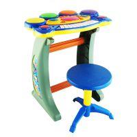 灿辉BB22B儿童益智多功能音乐玩具电子钢琴带麦克风儿童科教玩具
