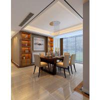 合肥山水装饰公司东方蓝海116平方现代风格室内装修方案报价效果图