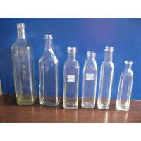 出售250ml--750ml墨绿色橄榄油瓶 透明橄榄油瓶 高档玻璃容器