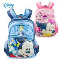新款正品迪士尼书包批发小学生护脊双肩包 儿童米奇书包一件代发