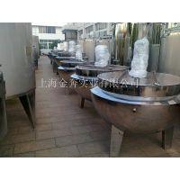 供应800L电加热不锈钢夹层锅 蒸汽夹层锅 可倾式夹层锅