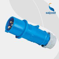 【促销】3芯16A防水工业插头 室外用三极工业电源插头SP-248