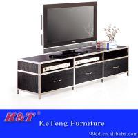客厅家具简约不锈钢酒店电视柜可拆装组合电视柜/视听柜