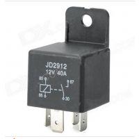汽车继电器JD2912/JD1912  12V/40A 4脚常开触点通用