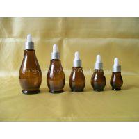 Supply New Design Amber Essential Oil Bottle