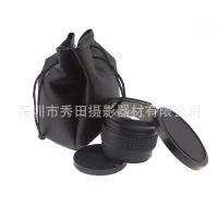 秀田58mm 0.35X倍 鱼眼镜佳能尼康 18-55 超广角附加镜头