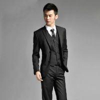 男士西服套装修身韩版小西装休闲商务职业装男式新郎结婚礼服新款
