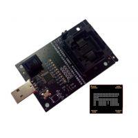 供应智能三星/小米/联想/华为EMMC字库IC nand flash测试座 转USB接口测试座