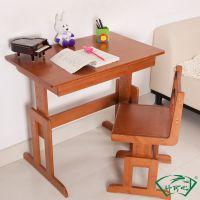 华丰儿童学习桌 实木书桌 写字桌写字台电脑桌 桌椅套装可升降