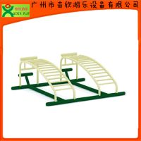 广州奇欣户外运动器材厂家直供 健身器材双人腹肌板 腹肌板(QX-090B)
