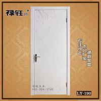 禄钰品牌木门实木复合白色雕花门室内套装门卧室门高品质木门厂家
