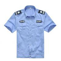定做保安物业工作服装 春秋装酒店保安服衬衣