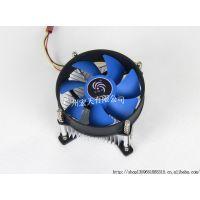 供应批量生产 天极风X5 775CPU散热器 盒装静音主板散热器