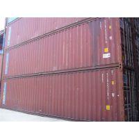 上海二手集装箱厂家,租赁销售报废集装箱40HQ超高二手海运柜