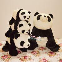 毛绒玩具 生日礼物 Pandaway仿真大熊猫公仔坐叭款熊猫