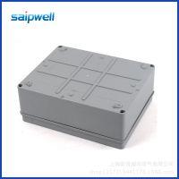 厂家直销各种大小塑料防水电缆接线盒 ABS仪器仪表盒 开孔端子盒