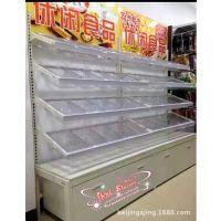 厂家直销超市货架 果蔬架 水果蔬菜货架 高档木制货架 干果促销架