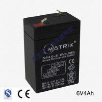 6V4AH蓄电池 免维护干电池 蓄电池 照明用可充放电蓄电池