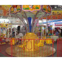 郑州金山游乐设备厂专业生产16座西瓜旋转飞椅 厂家直销