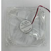 厂家直销 全新行货正品 12厘米机箱风扇 带红灯 白色透明 无包装