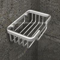 斯格雅 太空铝皂网/厨卫置物架/浴室转角架 加厚款