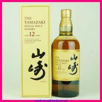 洋酒 三得利山崎12年单一麦芽威士忌 日本三得利酒类株式会社