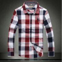 2014年秋冬新款时尚经典男士长袖衬衫 方领B家 男式长袖衬衣