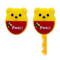 轻松熊钥匙套 可爱卡通软硅胶钥匙套钥匙扣/韩国创意礼品钥匙扣