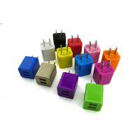 工厂供应大小方壳充电器 USB旅行充 手机充电头 墙充 CE认证旅充