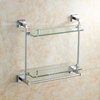 新型卫浴五金件一级套装出口家装置物架