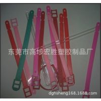 行李牌吊牌带子,透明塑胶吊带,多颜色塑胶行李牌吊带