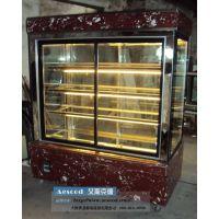 供应1.8米LZH978 冷藏展示柜 立式展示柜 玻璃蛋糕展示柜 风冷铜管