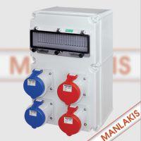 南京曼奈柯斯检修电源箱|可移动便携式插座箱|多功能插座箱检修箱