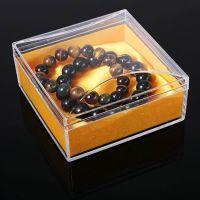 沉香盒佛珠盒饰品透明塑料包装盒批发有机玻璃盒亚克力檀香盒
