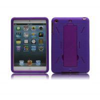 高端大气 苹果iPad平板电脑机器人支架保护套 iPadmini硅胶保护壳