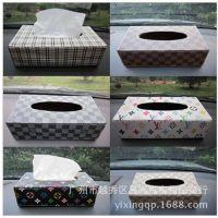汽车纸巾盒套,车用纸巾盒仪表台纸巾盒 家用餐巾纸盒
