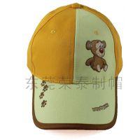 新款时尚儿童印花棒球帽动物卡通帽 猫和老鼠帽子批发