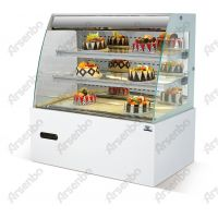 开放式展示柜 面包房蛋糕柜 超市甜品冷藏展示柜
