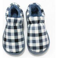 秋冬新款男女情侣地板家居棉拖鞋 防滑包跟厚底居家室外棉鞋托鞋