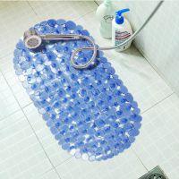 鹅卵石浴室防滑垫 带吸盘PVC浴缸垫淋浴房垫 洗澡防水脚垫 363g