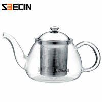 鑫鑫 耐热玻璃花茶壶 玻璃水壶 玻璃茶具AX831-700ML冲茶器