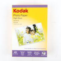 3包包邮 柯达KODAK 200g高光相纸4R防水相片纸 6寸喷墨打印照片纸