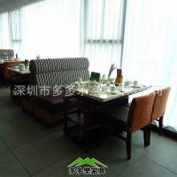【武汉长沙】定做白色大理石火锅桌椅|火锅桌厂家直销 酒店火锅桌