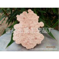厂家生产供应 木质挂件地图 木质地图