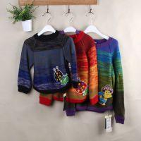 外贸日单尾货针织毛衣低价供应