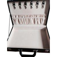 厂家定制生产仿皮房产交付盒 仿皮交房盒 手提皮箱 皮质收纳盒