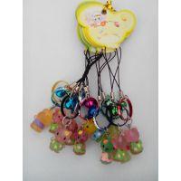 热销kt猫手机挂件儿童饰品 手机挂绳 创意小礼品 促销礼品
